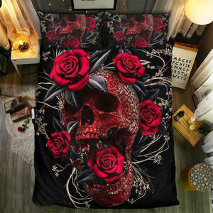Skull Bedding Set - 1132