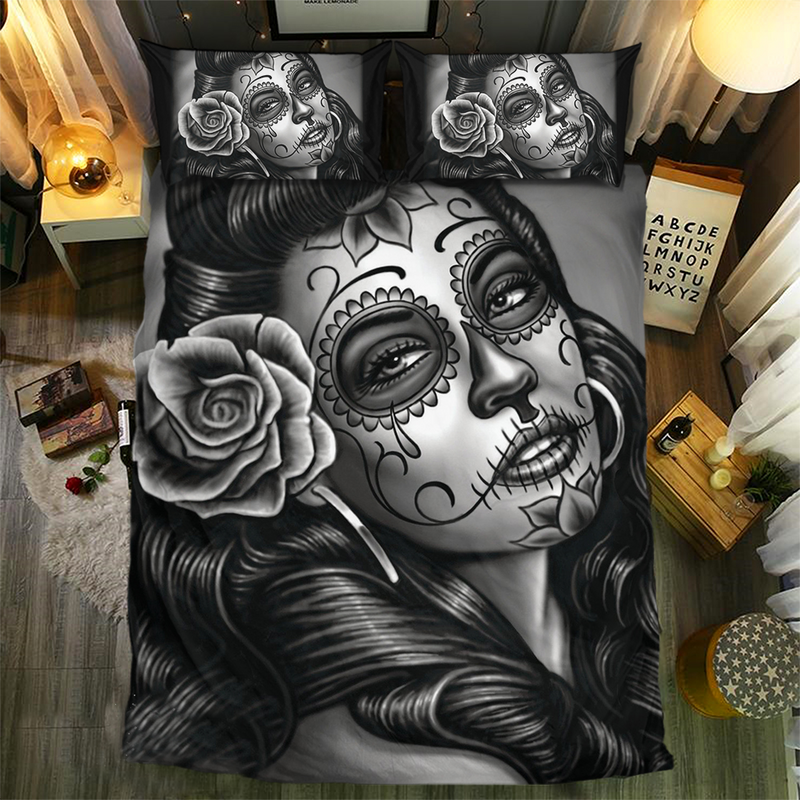 Skull Bedding Set - 1141