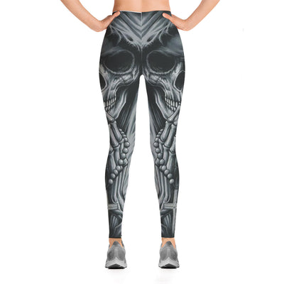 Skull Leggings - 00958