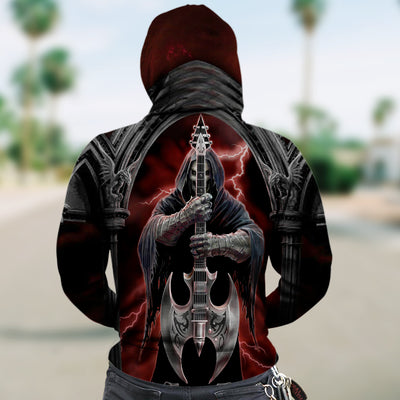 3D Zip Hoodie_The Grim's guitar