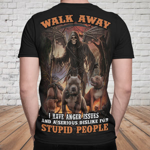 Skull 3D T-shirt_Walk Away