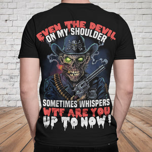 Skull 3D T-shirt_WTF Are You Up To Now