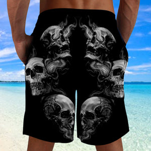 Skull 3D Shorts_See no Evil, Hear no Evil, Speak no Evil