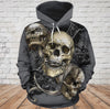 Skull 3D Hoodie_See no Evil, Hear no Evil, Speak no Evil