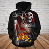Skull 3D Hoodie_Get Out of The Hell