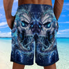 Skull Shorts_Electric Skull
