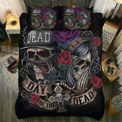 Bedding Set_Skull Day of the Dead