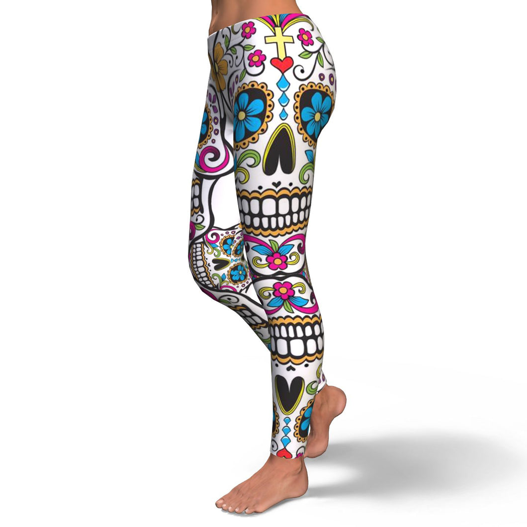 Skull Leggings - 0543