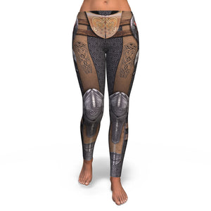 Skull Leggings - Warrior