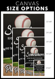 Baseball Canvas_Play for Him