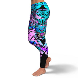Skull Leggings - Tiger