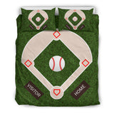 Baseball Field Bedding Set
