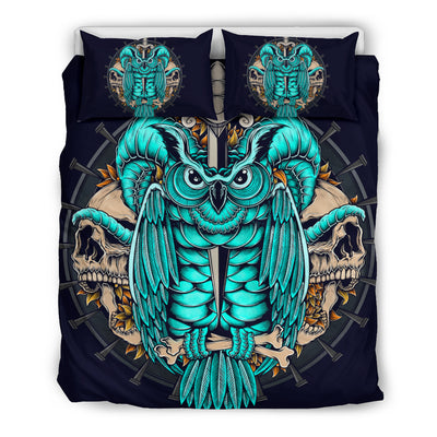 Skull Bedding Set - 00533