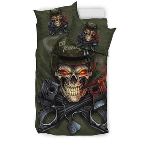 Commando Racing Bedding Set