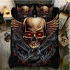 Skull Bedding Set_Winged Skull