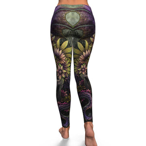 Skull Leggings - Skull and Dragon_0485
