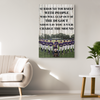 Custom Baseball Canvas_Surround Yourself With People