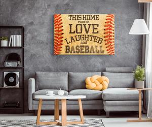Baseball Canvas_Baseball Family