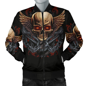 Skull Hoodie_Men's Bomber Jacket_Your New Biker Jacket