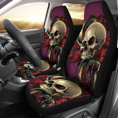 Skull Car Seat Covers - 01989