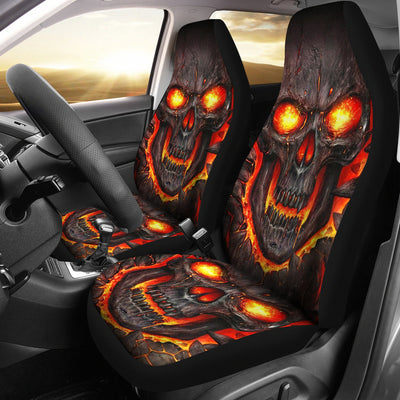 Skull Car Seat Covers - 01990