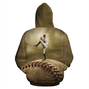 Baseball Hoodie_The Pitcher