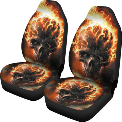 Car Seat Covers_Ghost Rider