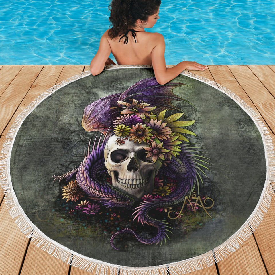 Beach Blanket_Dragon and Flower