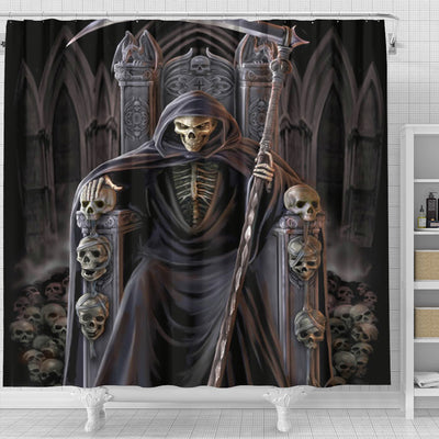 Skull Shower Curtain - 00681-2