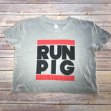 RUN PIG / Women's Crop