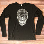 PODUNK Skull / Men's Black Long Sleeve