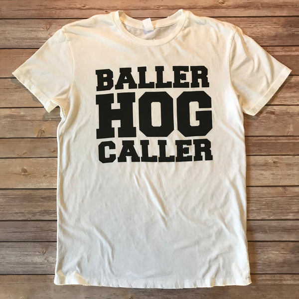 BALLER HOG CALLER / Men's Distressed