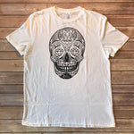 PODUNK Skull / Men's White Tee