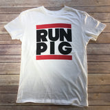 RUN PIG / Men's Distressed