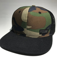 The Camo PODUNK Trucker Hat