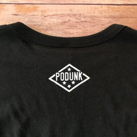 PODUNK State / Men's Black Long Sleeve
