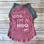 Hog / Dog Baseball Tee