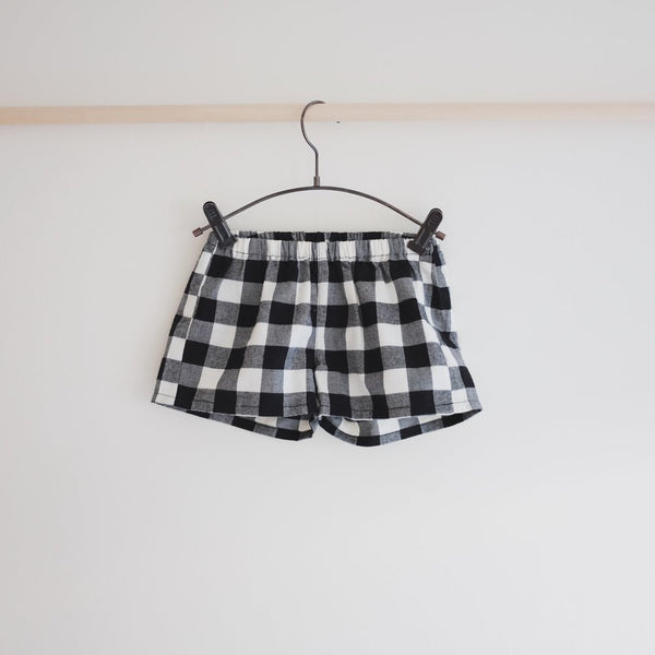 TinyRain Kids Gingham Shorts
