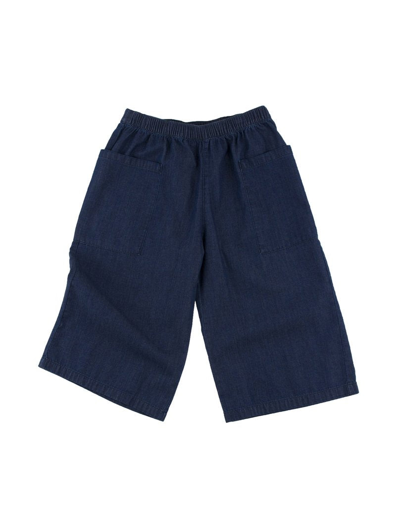 TinyCottons Navy Solid Cool Pant