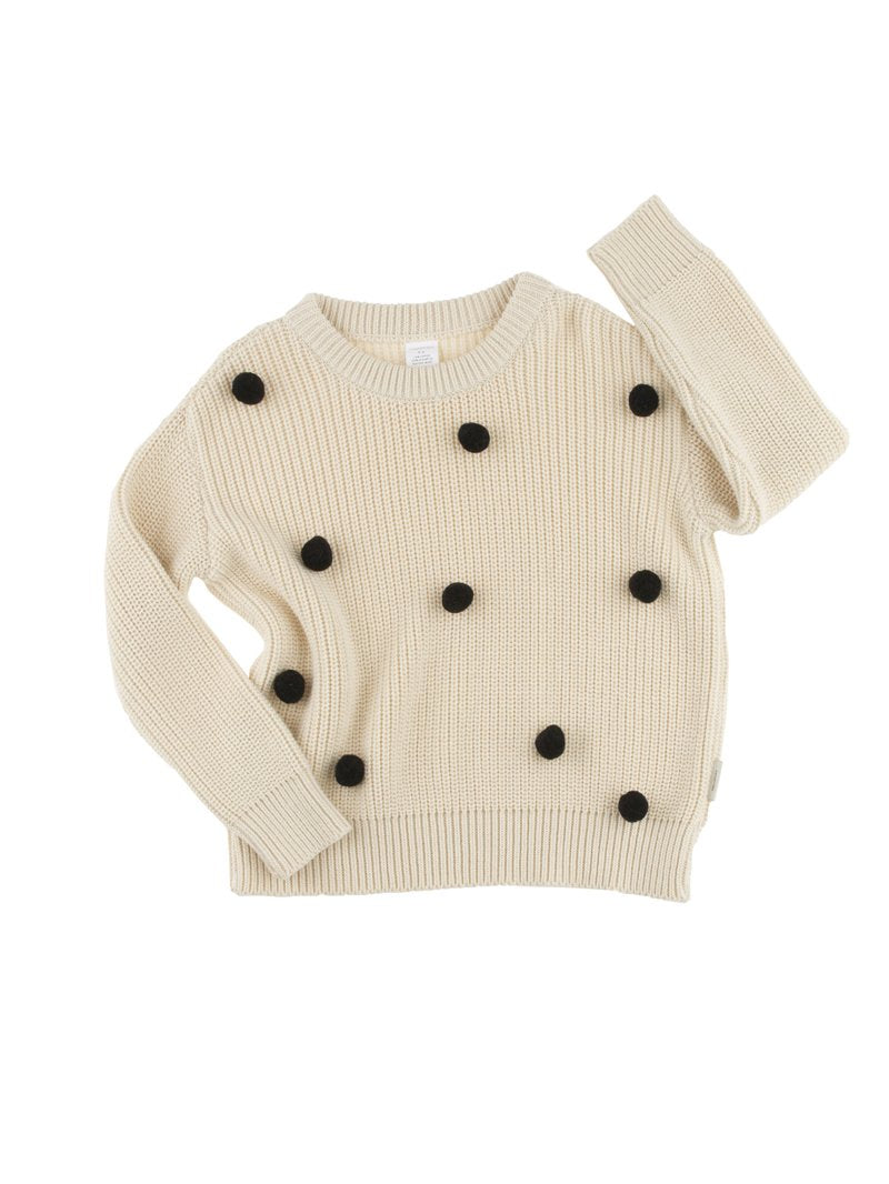 TinyCottons Pom Poms Sweater Oversized