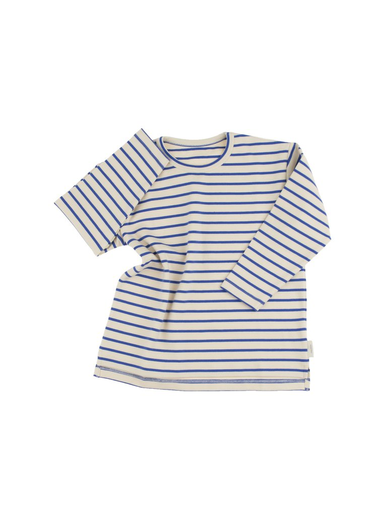 TinyCottons Blue Stripes Tee