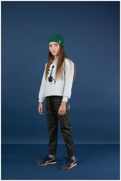 Diagonal Stripes WV Pants