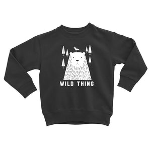 Wild Thing Pullover Sweater in Black