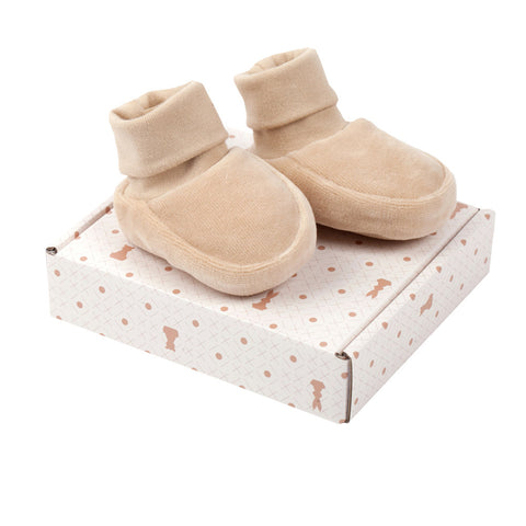 Wooly Organic Baby Velor Boots
