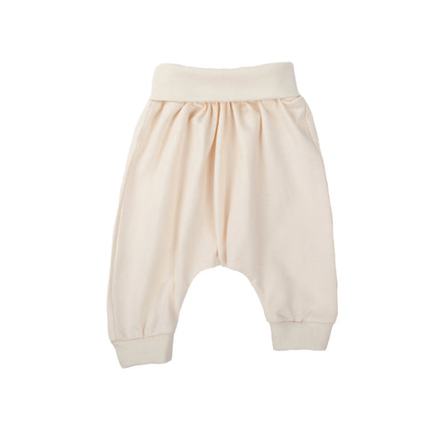 Wooly Organic Baby pants - White Color (cotton)