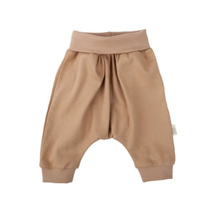 Wooly Organic Baby pants - brown color (cotton)