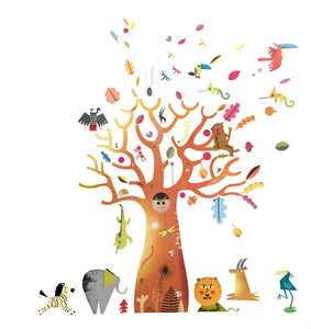 DJECO WALL STICKERS - BAOBAB