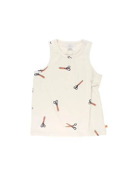 TinyCottons SCISSORS TANK TOP