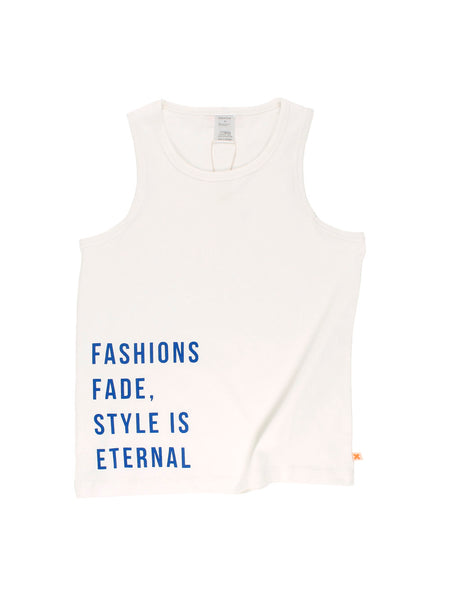 TinyCottons style is eternal gr tank top
