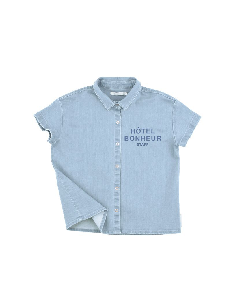 TinyCottons denim shirt